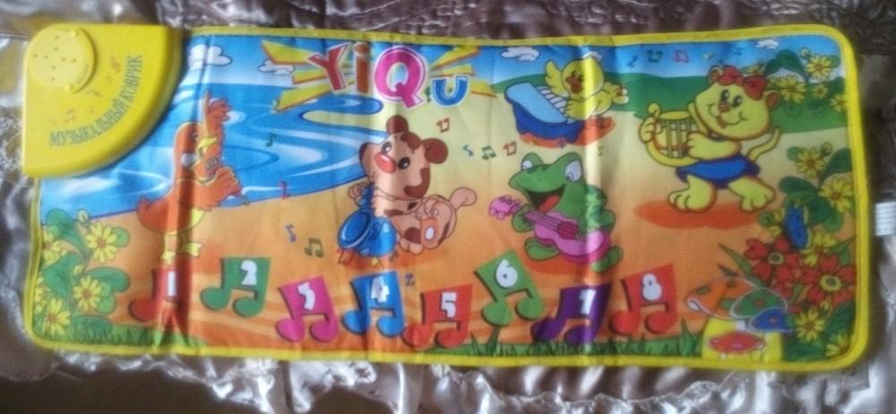 Музыкальный детский коврик фото №1