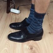 Кожаные туфли лоферы K Shoes (England) 41 р.