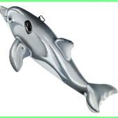 Надувной Плотик Intex Дельфин  58535. 175 x 66см