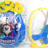 Пистолет водный детский водяной Frozen. Баллон рюкзак. Летний подарок