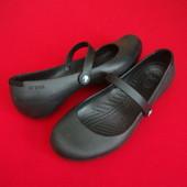 Балетки Crocs Black оригинал 39-40 размер