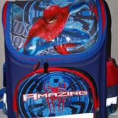Рюкзак ортопедический школьный Человек паук, скорость