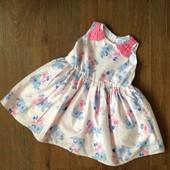 Пышное нарядное платье YD 1-2 года