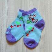 Новые носочки для девочки или мальчика.  Размер не указан, смотрите замеры, будут до года
