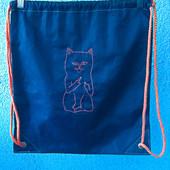 Прикольная сумочка для путешествий сумка мешочек Рюкзак пляжная сумка