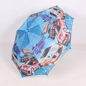 Зонтик хот вилс машинки мотоциклы разные детский Ч31