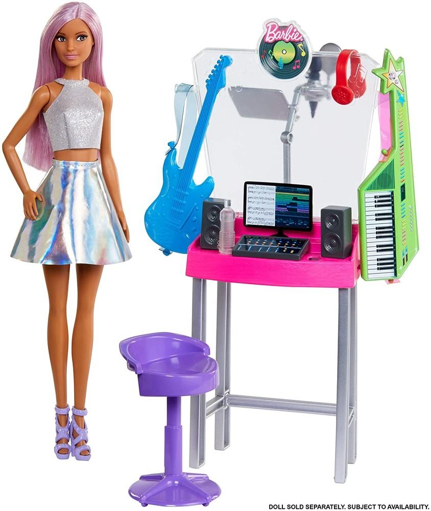 Барби поп-звезда и студия звукозаписи barbie careers pop star recording studio фото №1
