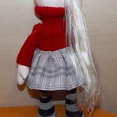 Красивая кукла ручной работы