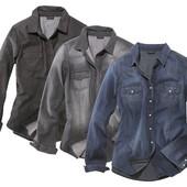 Рубашка джинсовая Esmara замеры и цвета  обьвления