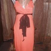 Красивенного цвета брендовое натуральное платье.Oodji.Укр 44-46 евр 38