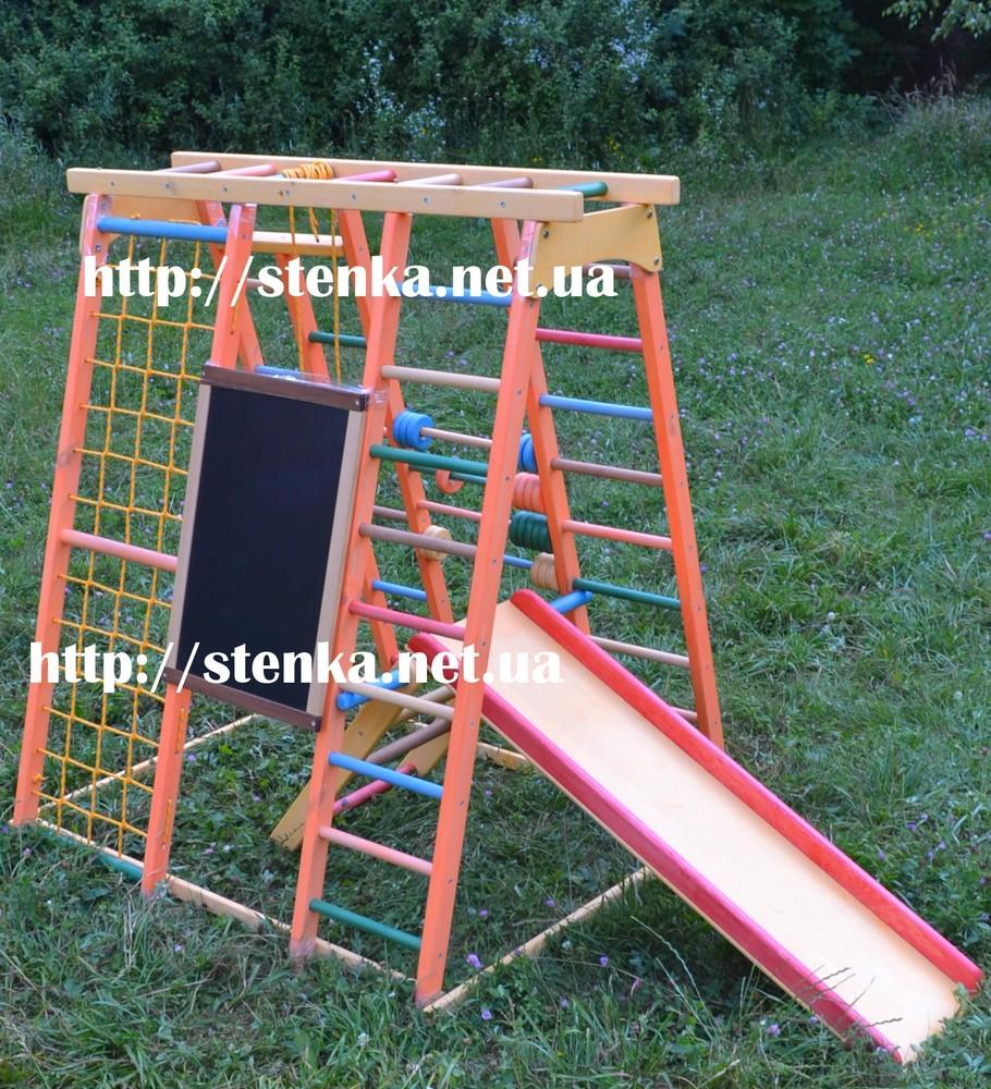 Уличная детская площадка, спортивный уголок, спортивный комплекс фото №1