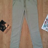 Мужские бежевые легкие брюки H&M