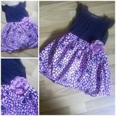 платье в состоянии нового на 3-4г