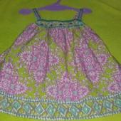 Красивая туника- платье Moonsoon  на 1-3 года