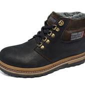 Зимние ботинки Fashion Shoes Trike Black