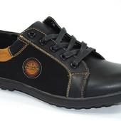 Подростковые туфли на шнурках