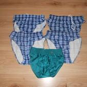 Плавки мужские не маломерят, размер s-зеленые Польские, л, хл-голубые клетка, л, хл, хxл -серая кл