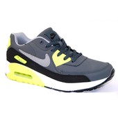 Кроссовки Nike Air Max Grey & Yellow, р. 41-46, код sgg-9204-2