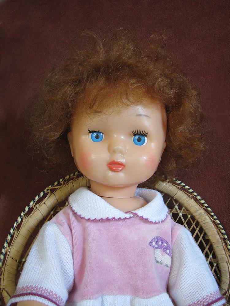 Кукла лена ссср москва 8 марта клеймо 56 см фото №1
