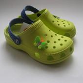 Кроксы для Ваших деток, очень яркие, красивые, все размера Бабочка