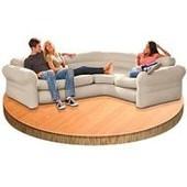 Надувной угловой диван Intex 68575g