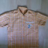 Рубашка фирменная летняя 7-8 лет