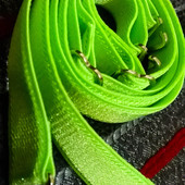 Яркие зеленые бретели на лиф бюстгальтер топ съемные