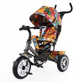 Тилли Бабочка 2016 T-351-7 детский трехколесный велосипед Tilly Trike