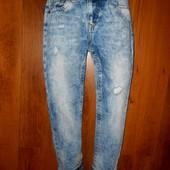 Модные джинсы на девочку River Island 128 рост 8лет