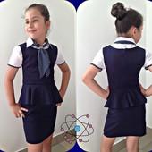 Школьная форма. Сарафан для девочки
