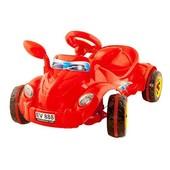 Машина педальная Молния Kinderway 09-903