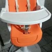 Матрас-вкладыш в коляску оранжевый