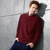Шерстяной свитер man р. L от ТСМ tchibo Германия