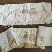 Постельный комплект, одеяло, защита Next