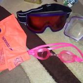 Маска очки рукава для плаванья