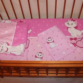 Постельный набор в кроватку бязь Е15