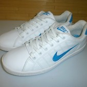 2821 Кроссовки Nike UK10,5//euro 45,5 _ кожа