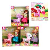 Кукла DEFA 8303 с лошадкой