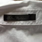 Бронь//Белая блузка внизу с воланом , Kira Plastinina, M, L