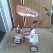 Трехколесный велосипед Lexus Trike Safari Жираф