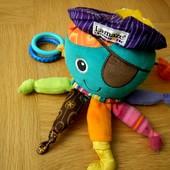 Lamaze Развивающая игрушка Пират-осьминог.  Красочная - развивает у малыша восприятие цветов. Каждая