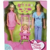 Штеффи беременная и Кен набор Счастливая семья от Simba