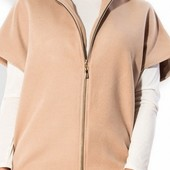 Размеры 48-54 Кашемировые пальто с коротким рукавом