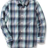 Хлопковые рубашки Old Navy 5-6,  8лет. Америка.