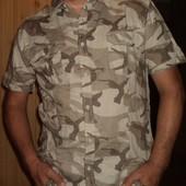 Фірмова стильна брендова рубашка -сорочка мілітарі Denim 73.л .