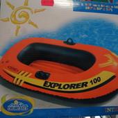 Лодка надувная детская одноместная Intex