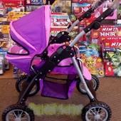 Детская коляска 9388 для кукол Melogo