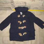 Модное пальто для мальчика на 2-3 года