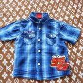 классная рубашка Disney от George 18-24 мес