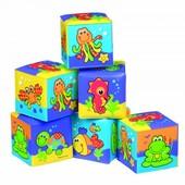 Кубики для ванной Playgro 0181170 Австралия разноцвет 1217165